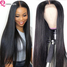 Straight Natural Wig Pre Plucked 13x6 Lace Front Human Hair wigs For Black Women Remy 360 Lace Frontal Wig Brazilian Hair Wigs
