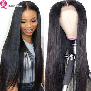 Image 1 - Straight Natural Wig Pre Plucked 13x6 Lace Front Human Hair wigs For Black Women Remy 360 Lace Frontal Wig Brazilian Hair Wigs