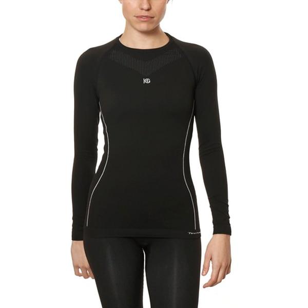 Women's Thermal T-shirt Sport Hg Hg-8050 Black