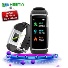 2020 Bracelet intelligent Bracelet intelligent mesure de la pression artérielle bande intelligente Fitness Tracker moniteur de fréquence cardiaque Bluetooth rappel(China)