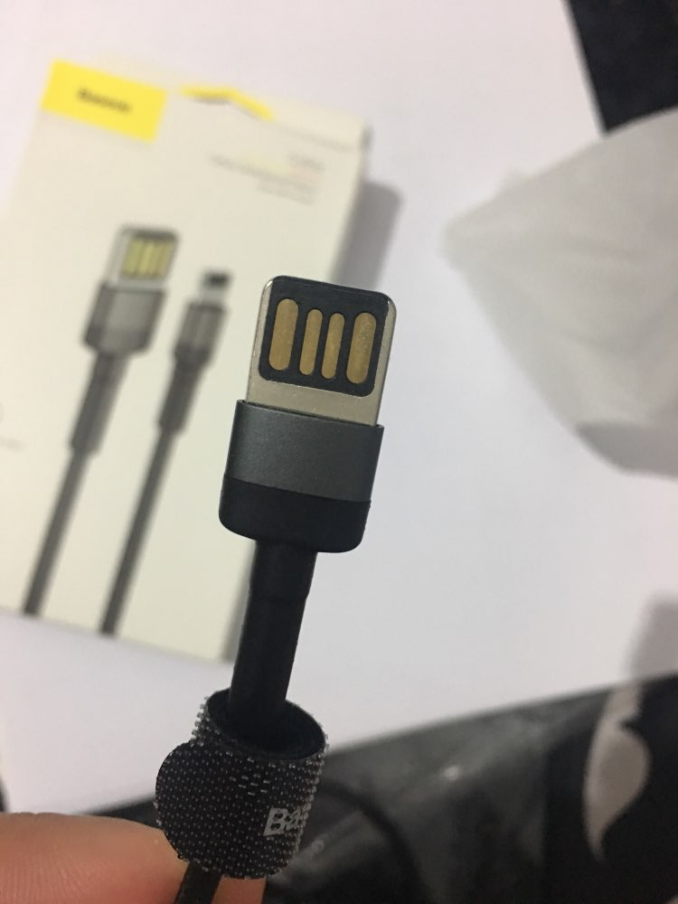 Baseus USB Cable for iPhone 11 XR XS Max 8 7 Plus USB Charger Cable 2.4A Fast Charging Reversible USB Cable Data Sync Cable Wire-in Mobile Phone Cables from Cellphones & Telecommunications on AliExpress