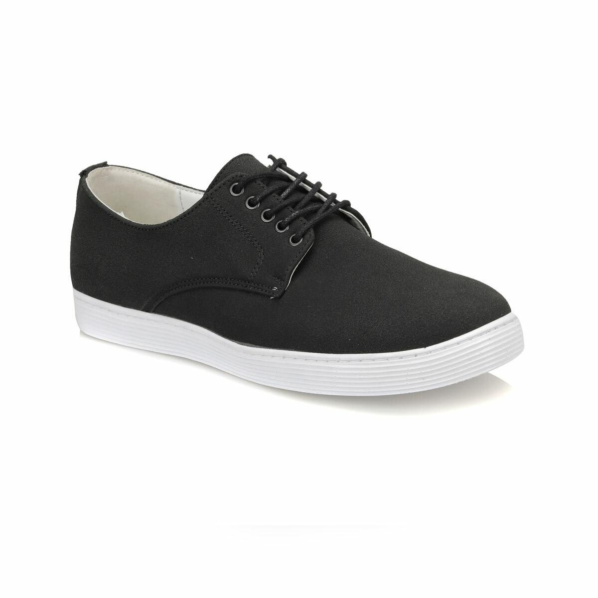 FLO 029-2 Black Male Shoes Panama Club