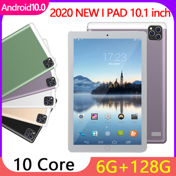 Newest S11 10.1Inch Tablets Android 10.0 OS 4G Phone Call 8GB+128GB ROM 1600*2560 GPS 8800mAh Big Capacity Battary  Tablet PC 10 1 inch official original 4g lte phone call google android 7 0 mt6797 10 core ips tablet wifi 6gb 128gb metal tablet pc
