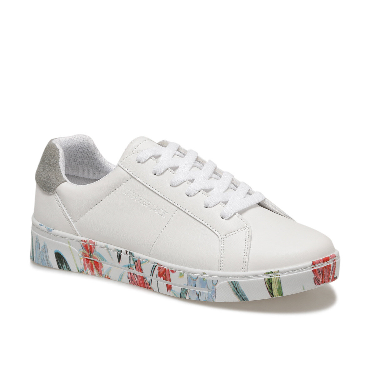 FLO DELBIN White Women 'S Sneaker Shoes LUMBERJACK
