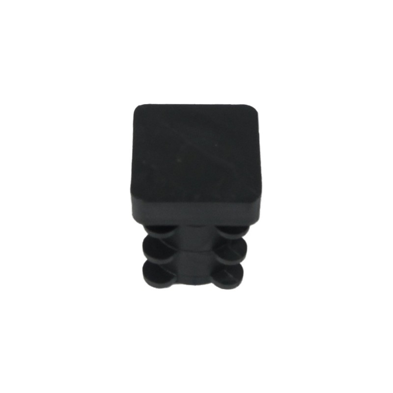Cone Square Black 16x16mm. Blister 4 PCs.