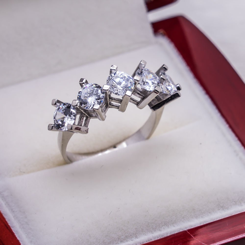 925 sterling Silver Dibs Lady Ring Model 19()