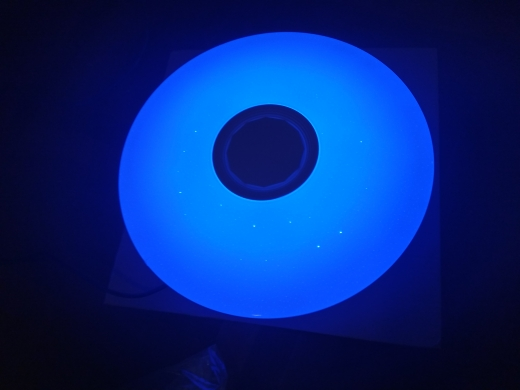 Luzes de teto Aplicativo Música Lâmpada