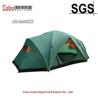 Large Family Camping Tent Sun Shelter Gazebo Beach Tent For with separated rooms & big space ideal for family & social gathering