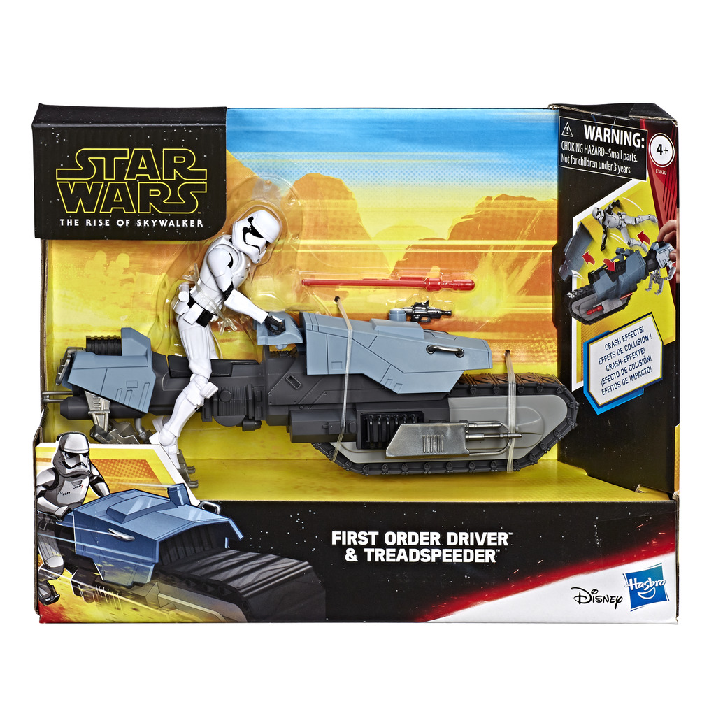 Star Wars Figure With Vehicle Figures themed Action figures 4 Years +
