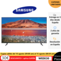 TV SAMSUNG UE50TU7072 50 BLUETOOTH ULTRAHD 4K, Original, old 2 warranty, shipments from Spain, smart TV, Square