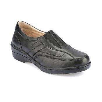 FLO 82 100154 Z czarne buty damskie Polaris 5 Point tanie i dobre opinie Polaris 5 Nokta Trzciny