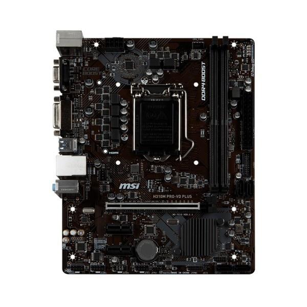 Игровая Материнская плата MSI H310M PRO-VD PLUS mATX LGA1151