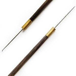 EMB254-B Крючок для вышивания пайетками и бусинами, 90мм