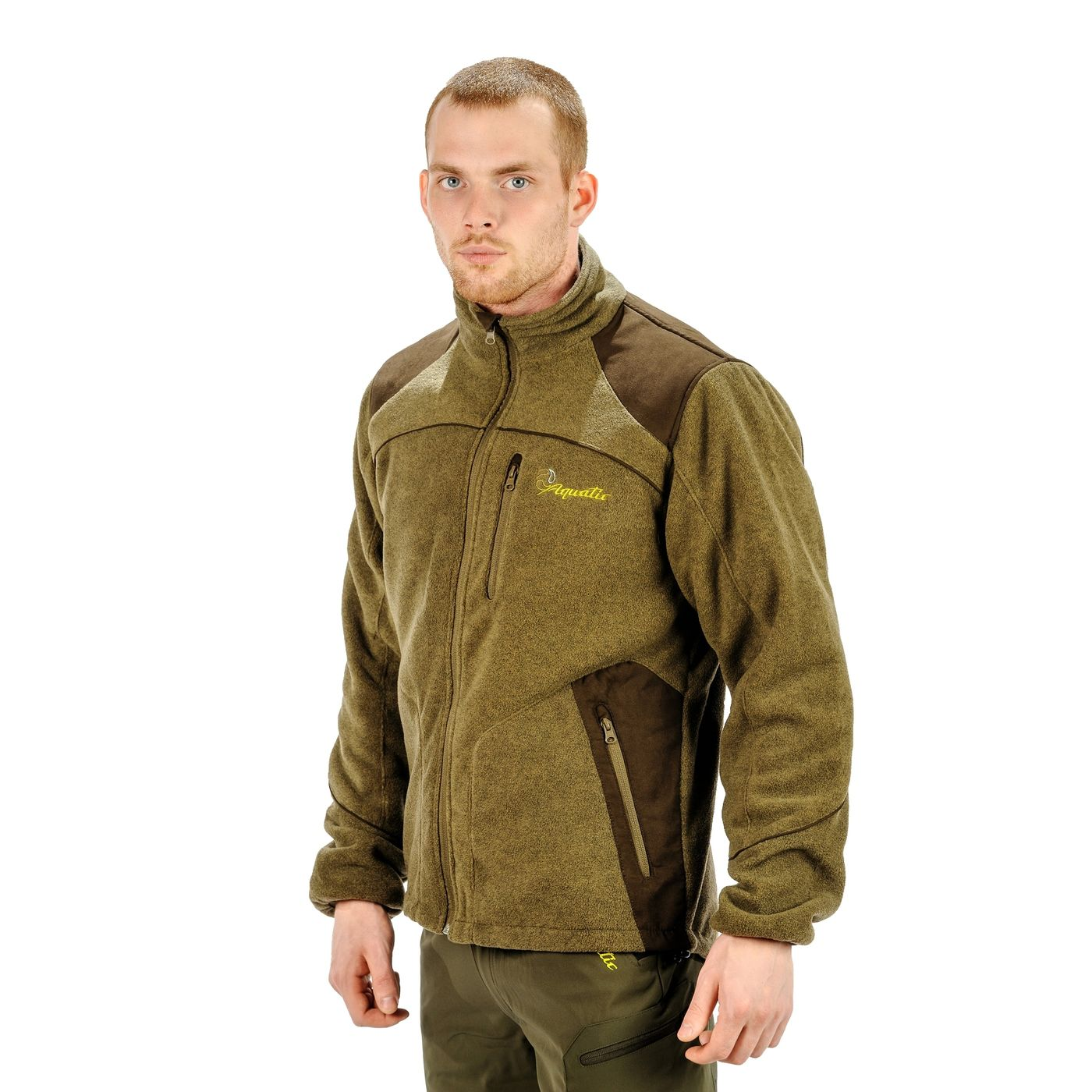 Fleece Jacket Aquatic Kf-01, Fishing Logo Kf-01 R L