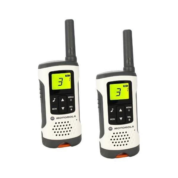 Walkie-Talkie Motorola T50 (2 Pcs) White Grey