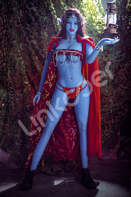 U68e7495ea3944f2cad3e60e75bfa5ce6h Linkooer-Muñeca sexual de silicona para hombres adultos, juguete de belleza de elfo azul de 158cm, con ano realista, Vaginal y Oral