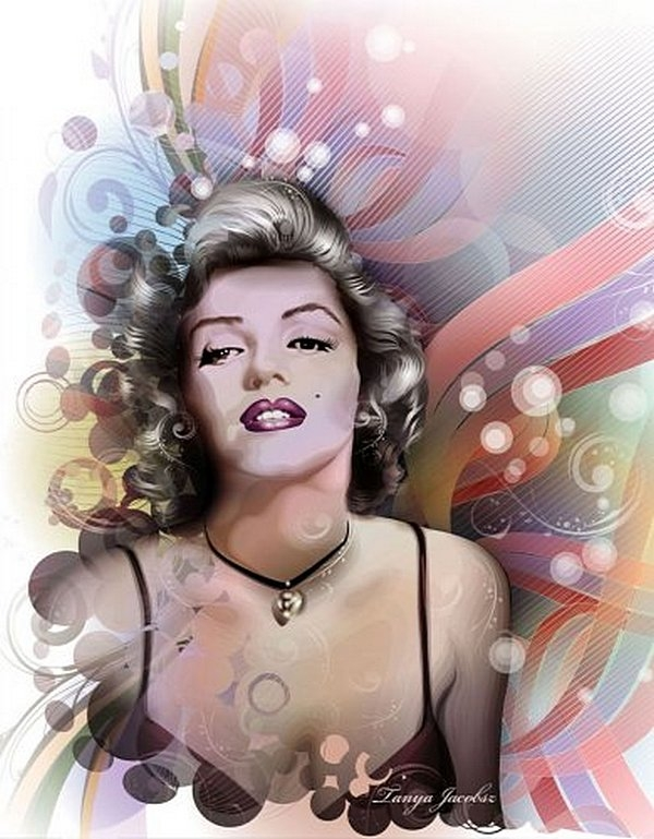 Painting On The Numbers Marilyn, 40x50 Cm