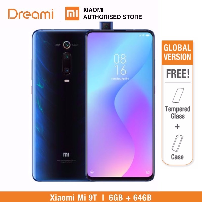 64gb xiaomi mi 9t 6gb ram global version (brand new/ official) mi9t 64 smartphone mobile