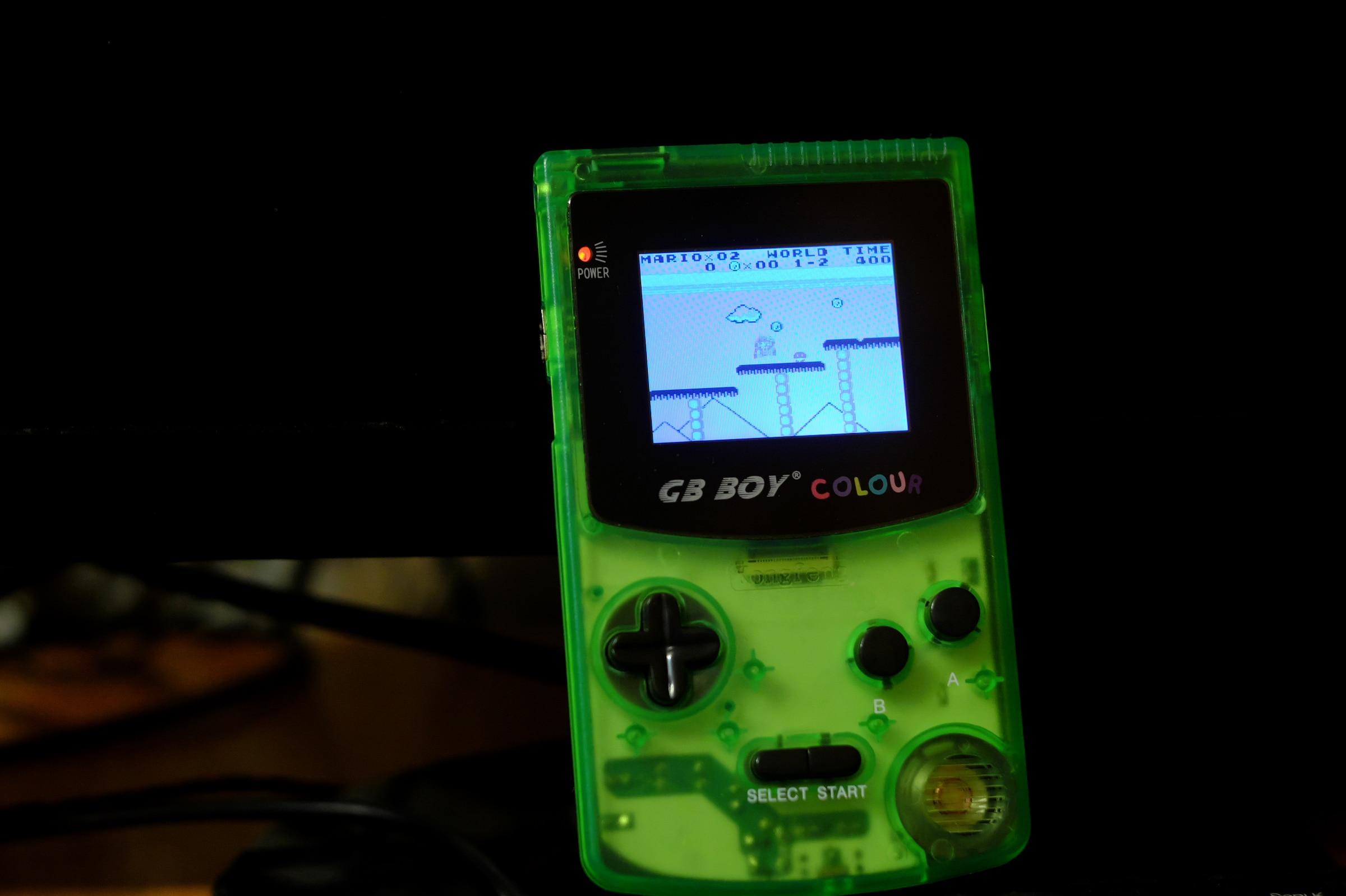 Players de jogos portáteis Consoles Backlit Menino