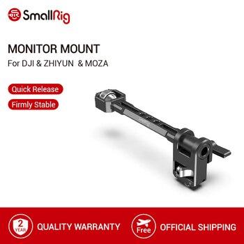 SmallRig Adjustable Monitor Mount for DJI RONIN-S/RONIN-SC & ZHIYUN CRANE 3/CRANE 3S/WEEBILL-S & MOZA AirCross 2 Gimbals- 2889 aluminum alloy extend rod pole stick for dji ronin s osmo vimble 2 crane smooth 4 feiyu g6 g5 ak4000 a2000 telescopic handheld
