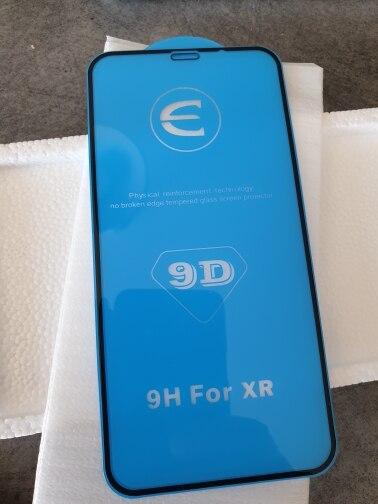 Verre protecteur 9D pour iPhone 6 6S 7 8 plus X XS 11 pro MAX verre sur iphone 7 6 8 plus XR XS MAX 11 Pro MAX 11