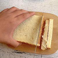 #福气年夜菜# 芝士火腿热压三明治的做法图解1
