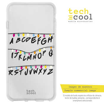 FunnyTech®Stand case for Motorola Moto Silicone E5 L Stranger Things vers.2 transparent