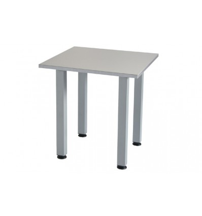 MODULATE TABLE COLOR SQUARE GRAY 70X70CM