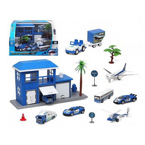 Vehicle Playset (13 Pcs)
