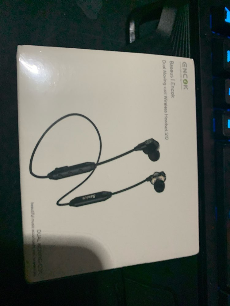 Baseus S10 Bluetooth Earphone Wireless Headphone For Phone IPX5 Dual Driver Headset With Mic Sport Earbuds Casque fone de ouvido Bluetooth Earphones & Headphones     - AliExpress