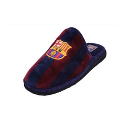 House Slippers Fútbol Club Barcelona Andinas 799-50 Blue Purple Childrens