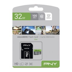 SDHC Memory Card PNY Elite 32 GB Black