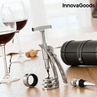 Innovagoods conjunto de vinho screwpull (4 peças)