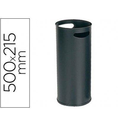 UMBRELLA STAND Metal 306 Black 50x215 Cm