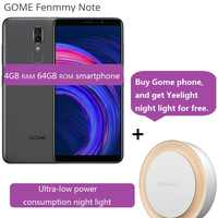 """GOME Fenmmy Note 4G Smartphone 5.99 """"Android 8.1 octa-core 2.3GHz 4GB + 64GB 13.0MP + 5.0MP identification faciale téléphone portable CN manuel"""