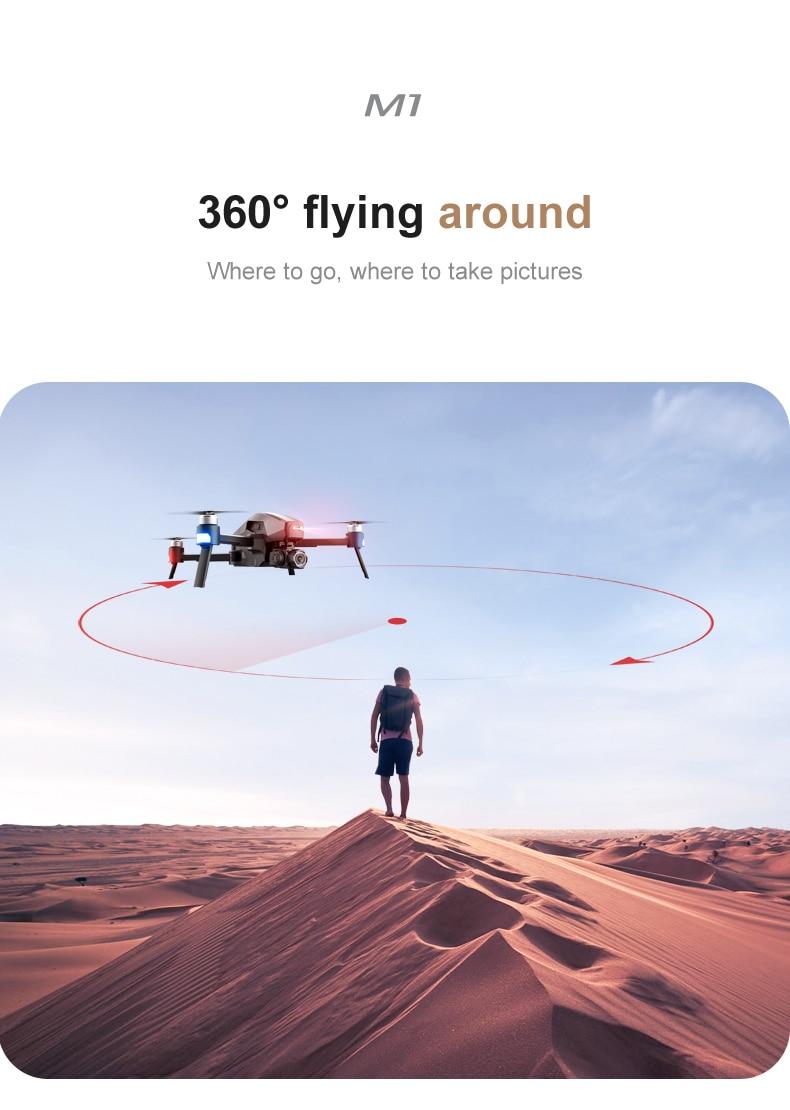 U695a55225cfa4087b09803b9cbcf24337 - 2021 M1 Pro 2 drone 4k HD mechanical 2-Axis gimbal camera 5G wifi gps system supports TF card drones distance 1.6km