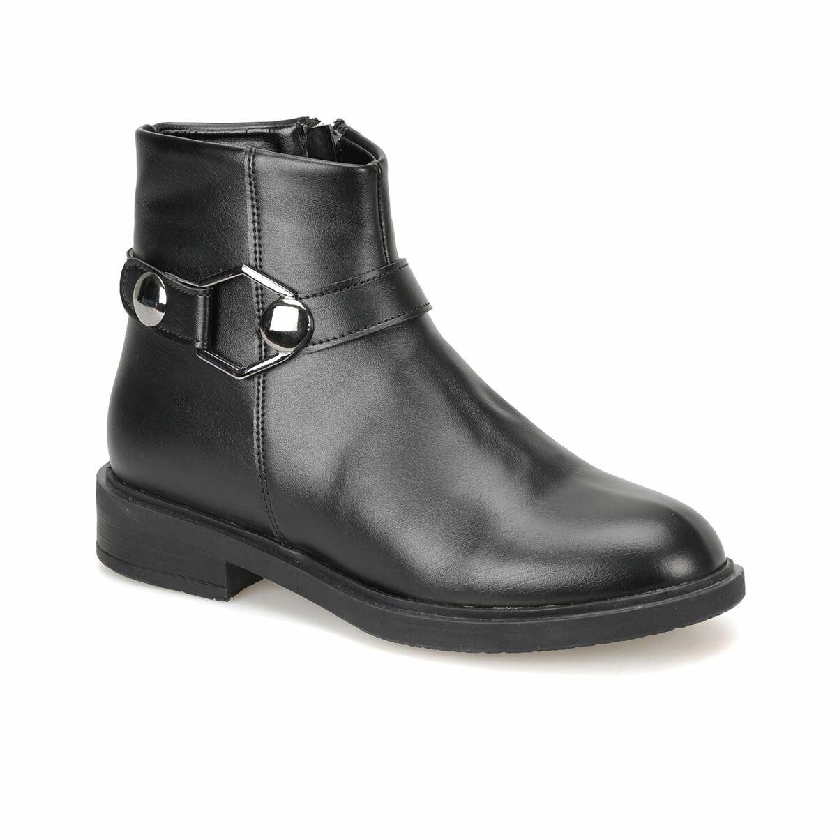 FLO 18K-240 Black Women Boots Miss F