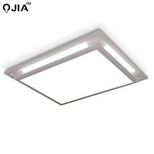 Image 5 - Led ceiling lights square white dimmer or switch for sitting room retange led commercial ceiling light fixtures luminaria teto