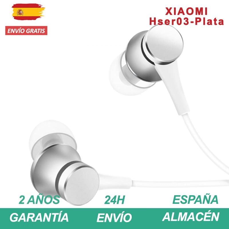 Xiaomi In-Ear Auriculares Headphones Basica Ableado En Oreja Tablet PC, Reproductor De MP3 O Toda Otra Dispositivo Compatible MI