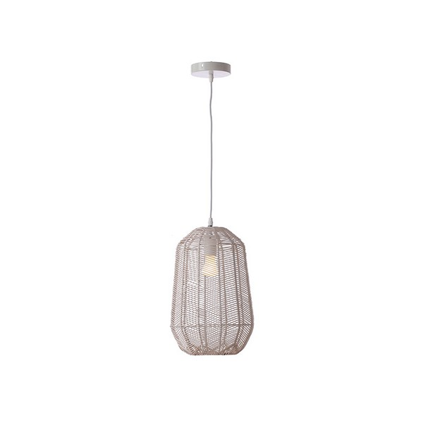 Ceiling Light (25 X 25 X 37 Cm) Natural Ratan