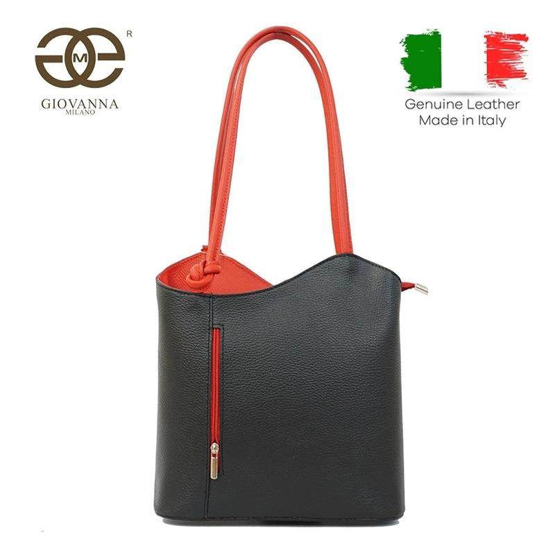 Giovanna Milano Bolso de Piel  Suave de Hombro  Tote, Hecha en Italia con mucha Calidad,  Primavera/verano Casual para city woman. 1