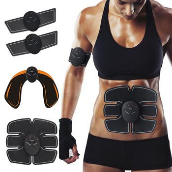 Stymulator mięśni brzucha wyszczuplanie ciała odchudzanie masaż podnoszenie pośladów biodra fitness nowa dostawa dropshipping ems tanie i dobre opinie Originalsourcing CN (pochodzenie) BODY 110 v