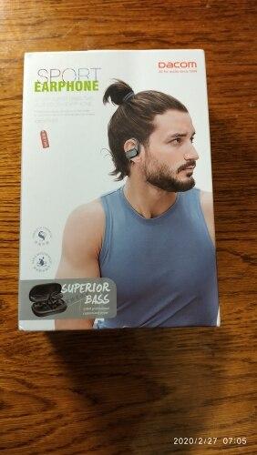 DACOM G05 tws Touch Wireless Earbuds IPX5 Waterproof Sport Bass Bluetooth Headphones Noise Cancelling Earphone with Ear Hook Bluetooth Earphones & Headphones    - AliExpress