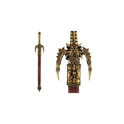 Letter opener Odins sword with scabbard (29cm)