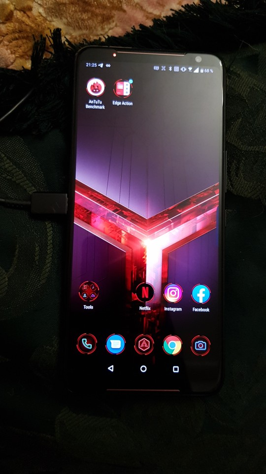 """Brand New Asus ROG Phone II ZS660KL Mobile Phone 6.59"""" 12GB 1TB Snapdragon855+ Dual SIM 6000mAh 48MP NFC Android9.0 ROG Phone 2 Cellphones    - AliExpress"""