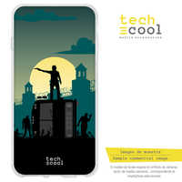 FunnyTech®Stand case for BQ Aquaris M5 L design design The walking Dead Silicone vers.2
