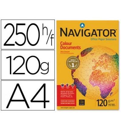 PAPER COPIER NAVIGATOR DIN A4 120 GRAMS-PACK 250 SHEETS