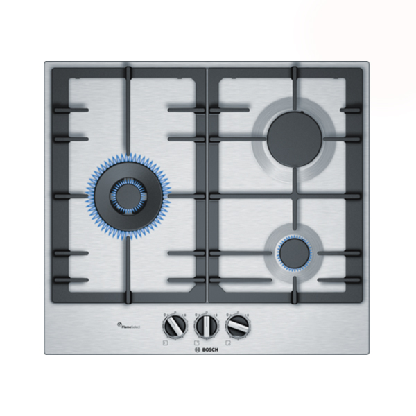Gas Hob BOSCH PCC6A5B90 60 cm (3 Stoves)|Cooktops| |  - title=