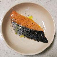 温暖治愈 日式三文鱼梅子茶泡饭的做法图解3