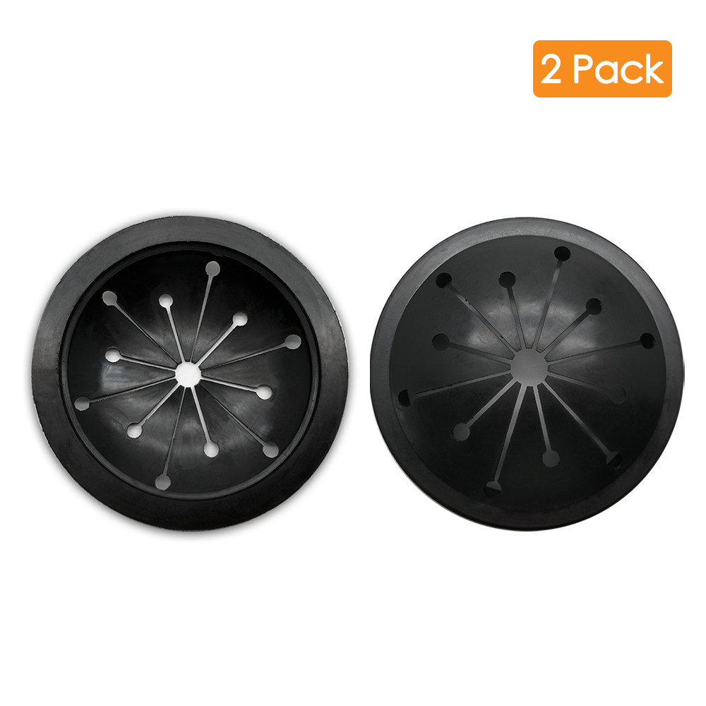 2 Packs Garbage Disposal Splash Guard Sink Baffle Disposal Replacement Waste Food Disposal Part For Kitchen 8cm X 1.3cm